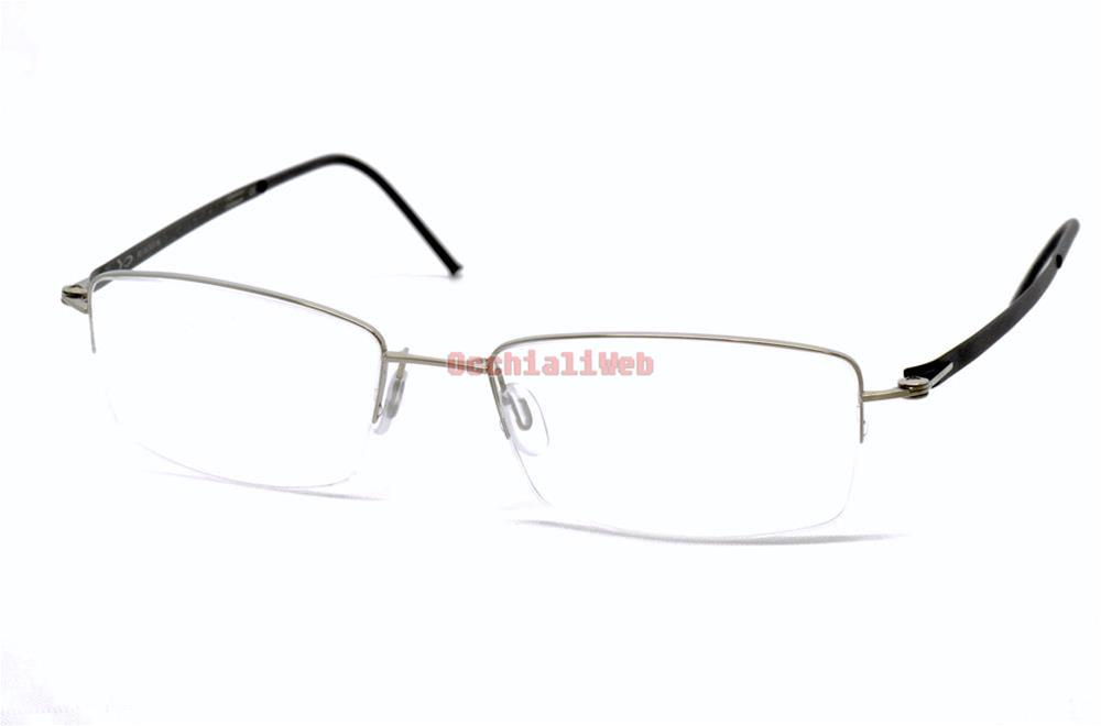 bioeyes be666 col 226 argento nero cal 53 new occhiali da