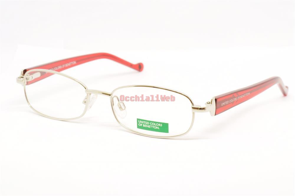 occhiali da vista benetton junior mod bb068 col 01 cal