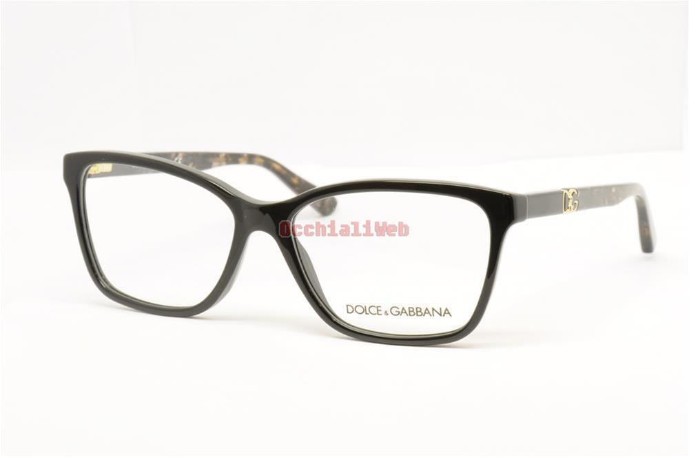 183c751147 Occhiali da Vista Eyeglasses Dolce Gabbana Mod.3153P Col. 2688 Cal