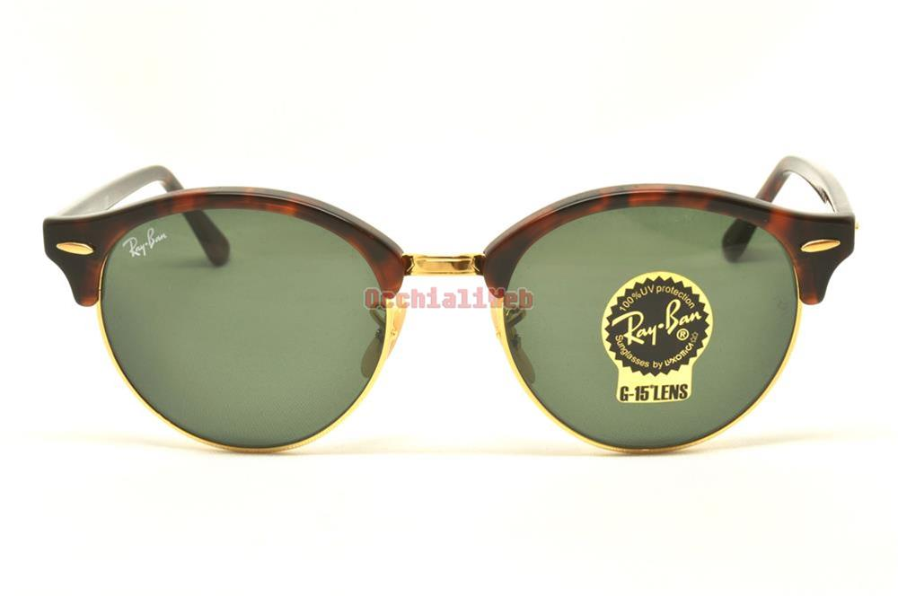 ray ban rb 4246 clubround new sunglasses ebay. Black Bedroom Furniture Sets. Home Design Ideas