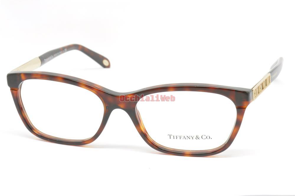 Tiffany Glasses Frames New York : Tiffany & Co. 2102 VISTA Col.8002 Cal.54 New EYEGLASSES ...