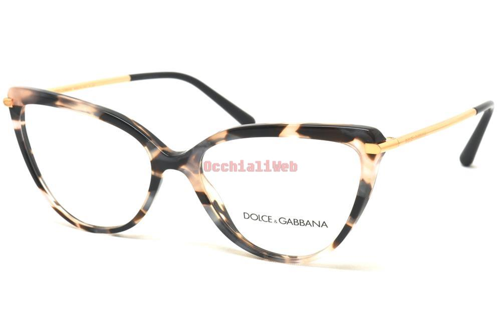 a388695c0a7 Dolce   Gabbana DG 3295 Col.3120 Cal.55 New EYEGLASSES-EYEWEAR