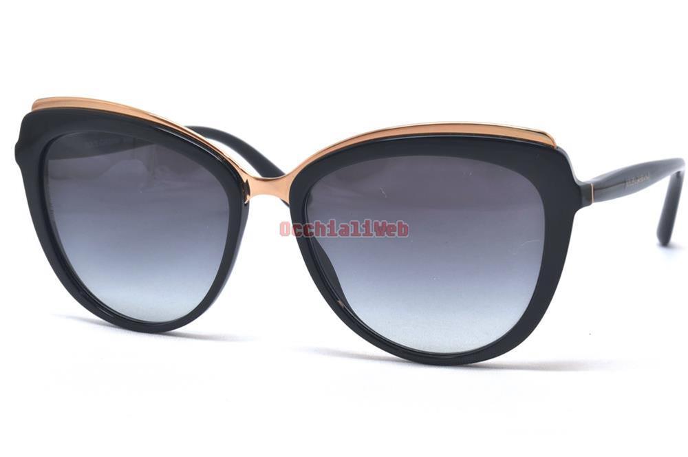 eab37107481b Dolce   Gabbana DG 4304 Col.501 8G Cal.57 New SUNGLASSES