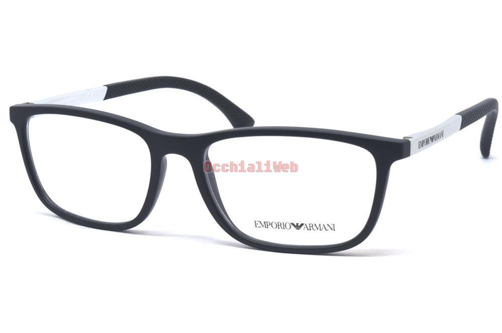 3fe786fb79e7 Emporio Armani EA 3069 Color 5063 Caliber 55 New Glasses