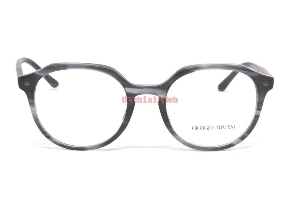 Giorgio Armani Ar7132 5561 Occhiale Da Vista Grigio Grey Eyeglasses Sehbrille z9OTeh