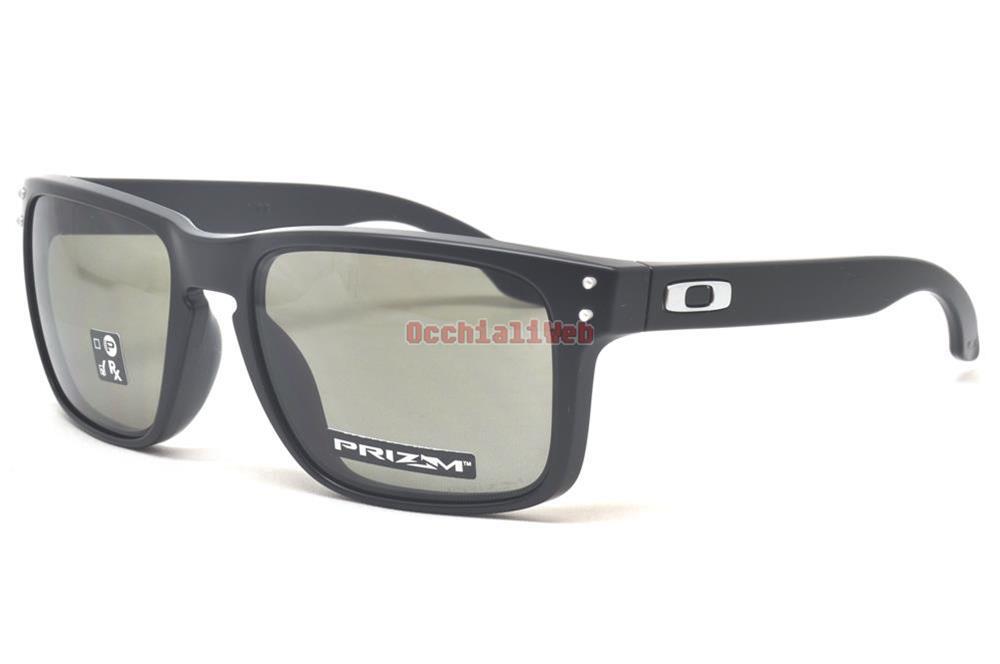 87cd484b3b3a4 Oakley OO 9102 E855 HOLBROOK Couleur E8 Calibre 55 Nouveau LUNETTES ...