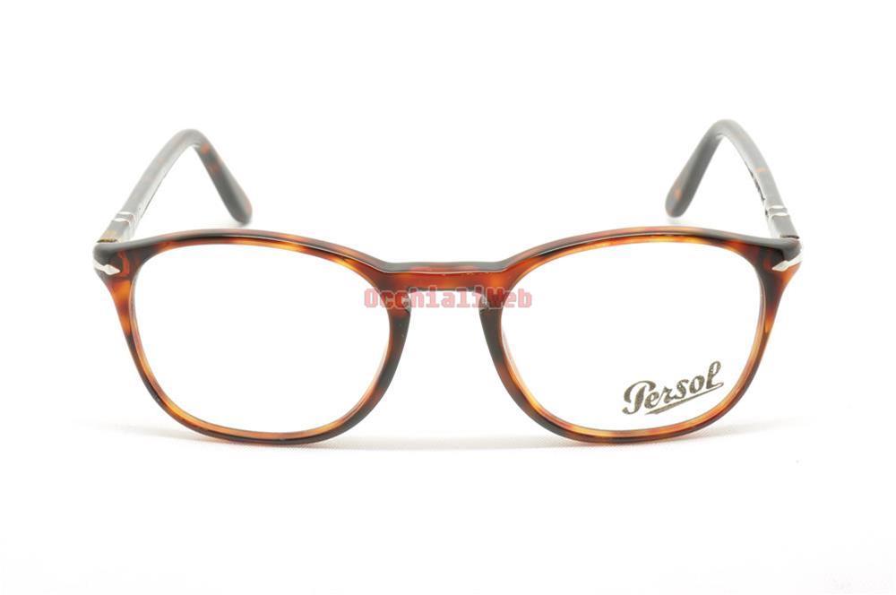 Occhiali Da Vista Persol 3007-V Col.24 (tartarugato) RfxZPnAeW