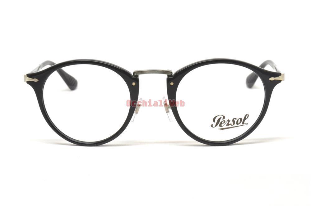Persol 3167/v 49 95 Black Occhiali Eyewear Brille Calligrapher Edition xirHo