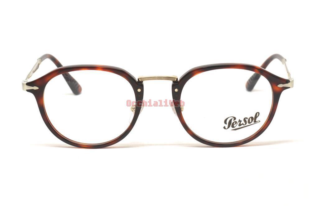 Persol 3168/v 50 24 Havana Occhiali Eyewear Brille Calligrapher Edition Vista lsgcVLDS