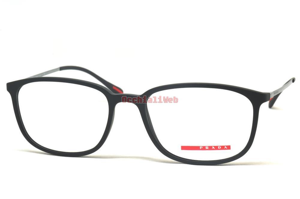 Prada Linea Rossa VPS 03H Farbe DG0-1O1 kaliber 55 Neu BRILLE   eBay