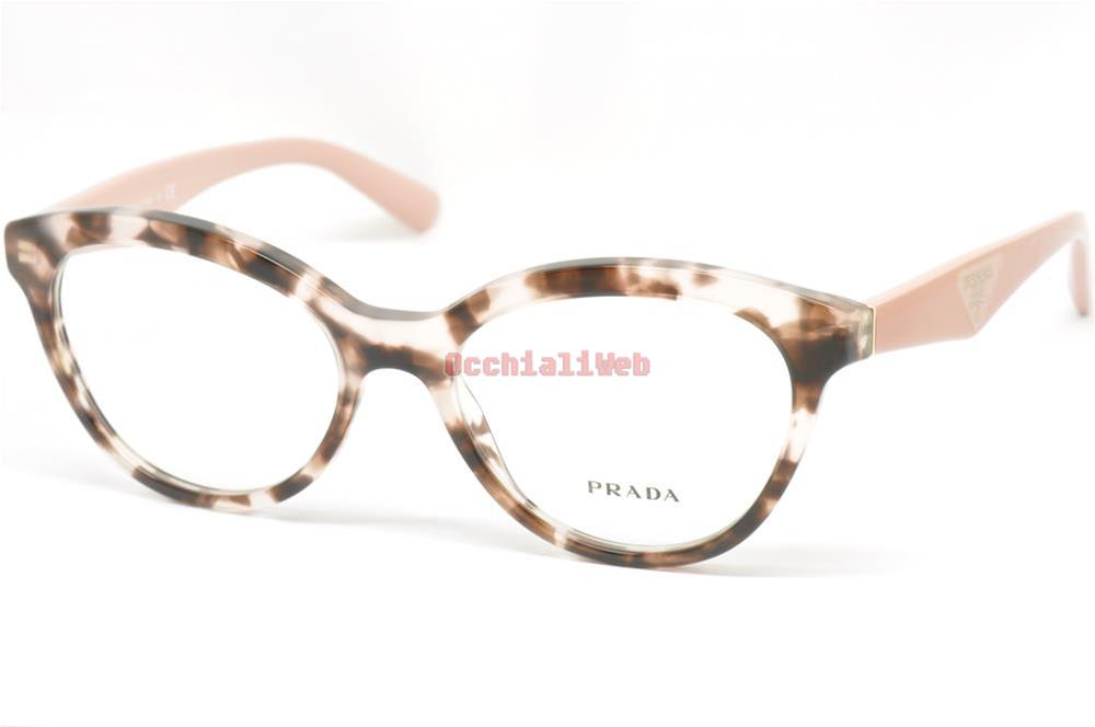 taglia 40 a2ada 91a15 Dettagli su Prada VPR 11R Col.ROJ-1O1 Cal.52 New Occhiali da  Vista-Eyeglasses
