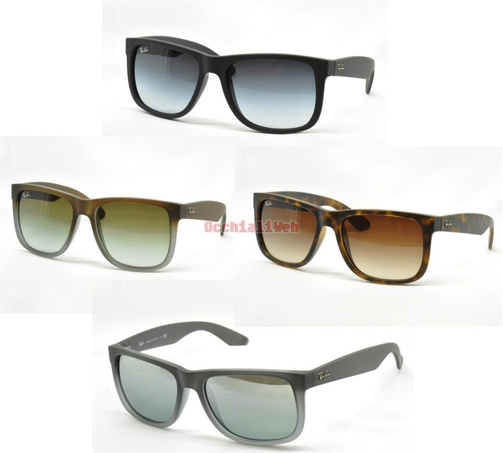 Ray Solesunglasses Da Ban Justin Rb 10 Nuovi Colori Occhiali 4165 nUEx4FW5nP