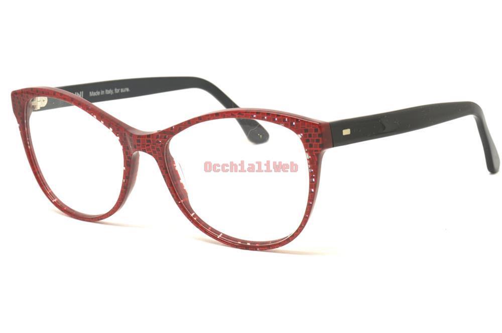 uk availability better a few days away Détails sur Vanni V1271-A800 Couleur pixel rosso Calibre 54 Nouveau LUNETTES