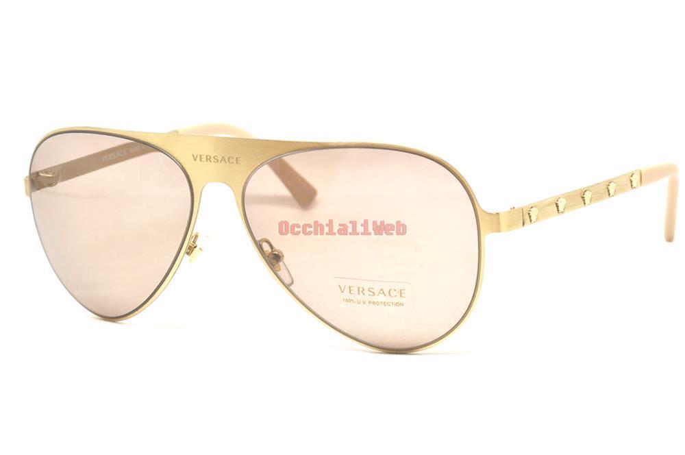 de69ba79aa94 Details about Versace 2189 Col.1339 3 Cal.59 New SUNGLASSES