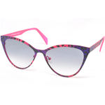 Italia Independent I-METAL 0022.ZEB.013 Col.ZEBRAFFA Cal.55 New Occhiali da Sole-Sunglasses