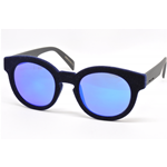 Italia Independent I-PLASTIC 0909V Col.021.000  Cal.49 New Occhiali da Sole-Sunglasses