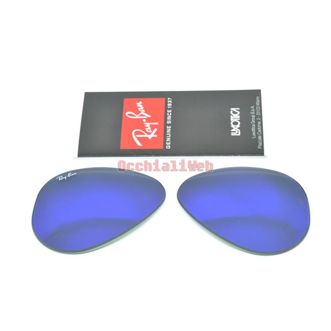 467b58bbd8 ... italy lenti lens ray ban 3025 55 mirror purple specchio viola col.1m  85925 09461