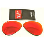 LENTI- LENS RAY-BAN 3025 58 ROSSE SPECCHIO POLARIZZATE - MIRROR RED POLARIZED