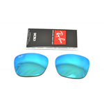 Lenti di ricambio Ray ban 4187 CHRIS  SPECCHIO BLU / MIRROR BLUE , Replacement lens