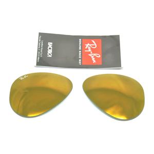 ray ban oro specchio