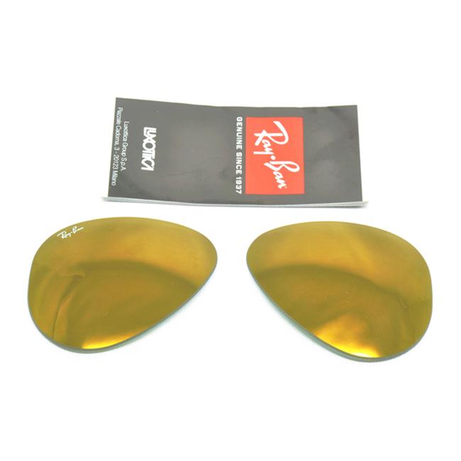 Lenti lens ray ban aviator 3025 58 - Specchio polarizzato ...