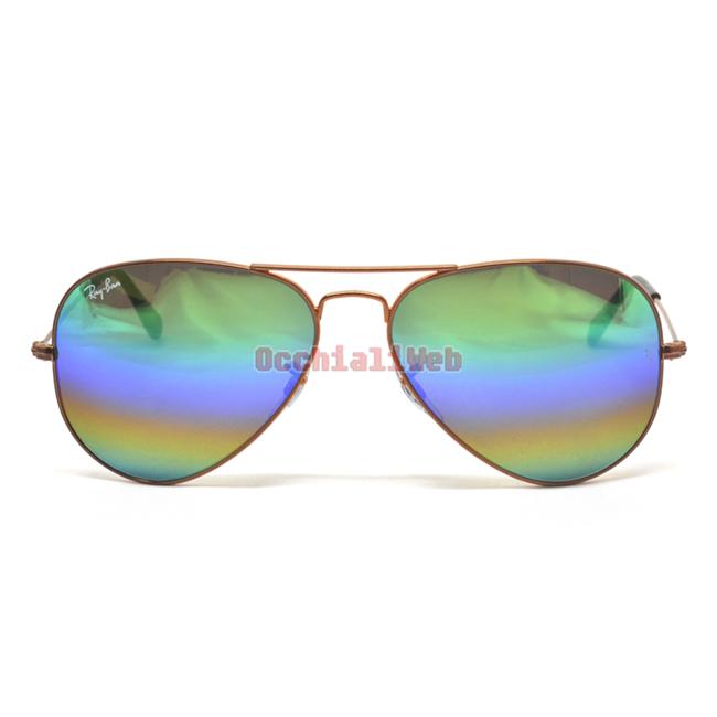 Ray Ban RB 3025 Col.9018C3 Cal.58 New Occhiali da Sole Sunglasses
