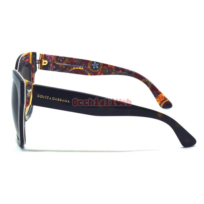 18db582348b6 Occhialiweb.com  Dolce   Gabbana DG 4270 Col.3037 13 Cal.55 New ...