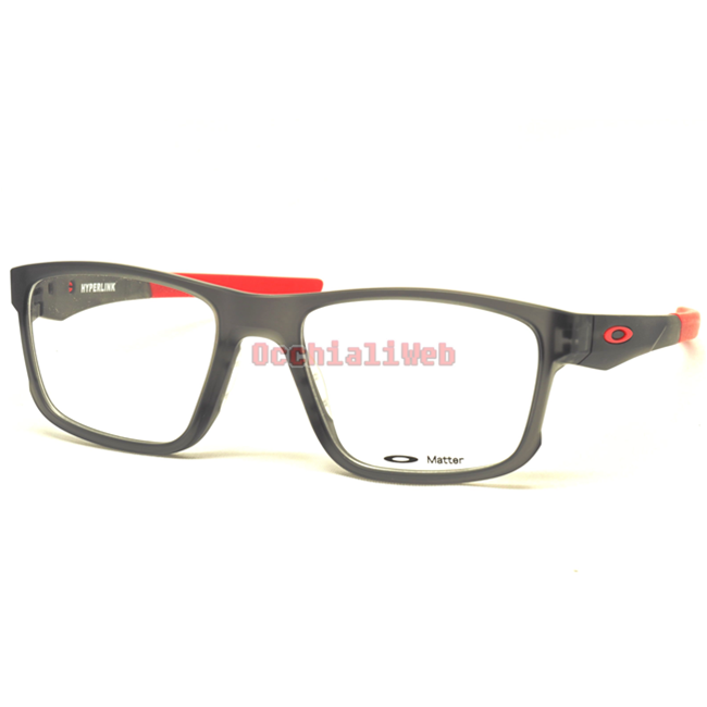 vendita calda online 58989 3cd8e Oakley OX 8078 HYPERLINK Col.05 Cal.52 New Occhiali da Vista-Eyeglasses