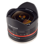 Obiettivo Samyang 8mm f/2.8 Fish-eye UMC Mirrorless (Samsung NX) Nero
