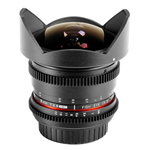 Samyang 8mm T3.8 Asph IF UMC Fisheye CS II VDSLR (4/3) Nero