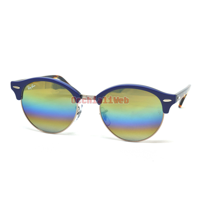 Occhialiweb.com  Ray-Ban RB 4246 CLUBROUND Col.1223 C4 Cal.51 New ... 317bf7ba66