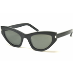 Saint Laurent SL 215 GRACE Col.001 Cal.54 New Occhiali da Sole-Sunglasses
