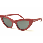 Saint Laurent SL 213 LILY Col.004 Cal.52 New Occhiali da Sole-Sunglasses