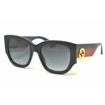 818ff940f4c Gucci GG0276S Col.001-black-multicolor-grey Cal.53 New SUNGLASSES