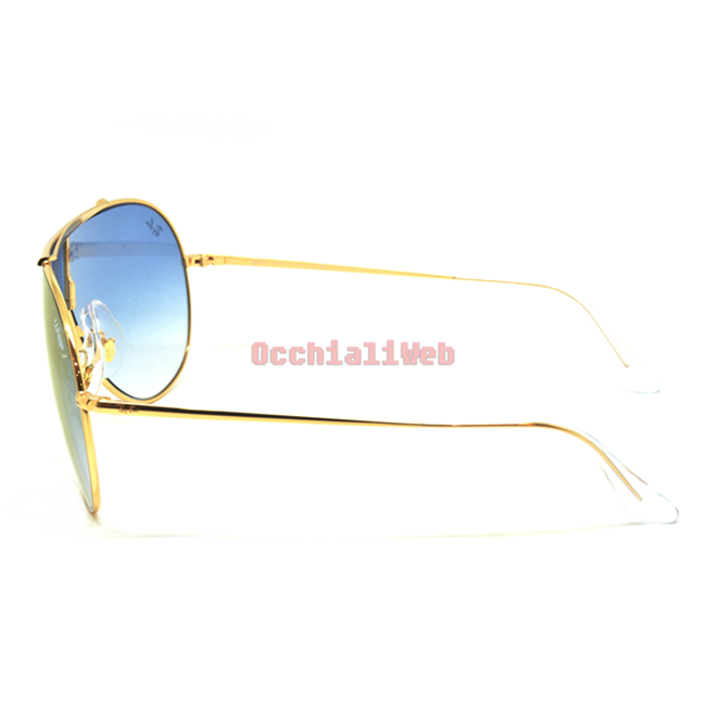 95db123b92 Occhialiweb.com  Ray-Ban RB 3597 WINGS Col.001 X0 Cal.33 New ...