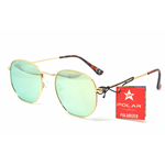 Polar Sunglasses CHICAGO Col.2/Gold Cal.54 New Occhiali da Sole-Sunglasses