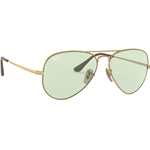 Ray-Ban RB 3689 AVIATOR METAL II Col.001/T1 Cal.58 New Occhiali da Sole-Sunglasses