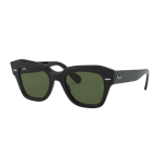 Ray-Ban RB 2186 STATE STREET Col.901/31 Cal.49 New Occhiali da Sole-Sunglasses