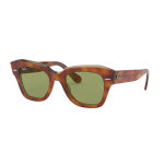 Ray-Ban RB 2186 STATE STREET Col.1293/4E Cal.49 New Occhiali da Sole-Sunglasses