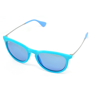 ray ban erika blu specchiata