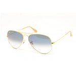 Ray-Ban RB 3025 AVIATOR Col.001/3F Cal.58 New Occhiali da Sole-Sunglasses