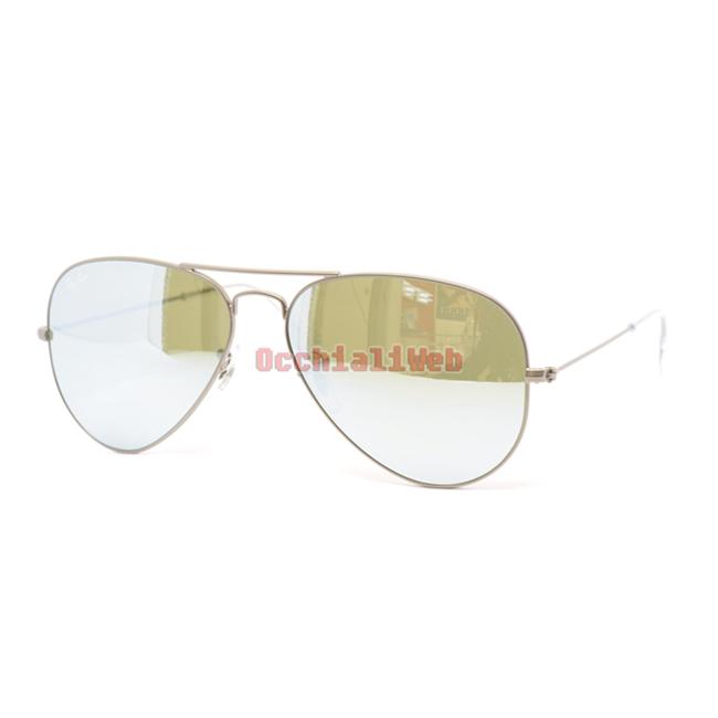 Ray ban rb 3025 aviator - Occhiali ray ban aviator specchio ...