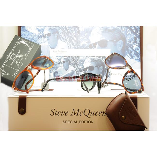 28a9a6e9fa1cc Persol Steve McQueen 714SM Col. 24 56 Cal. 52 Occhiale sole Sunglasses