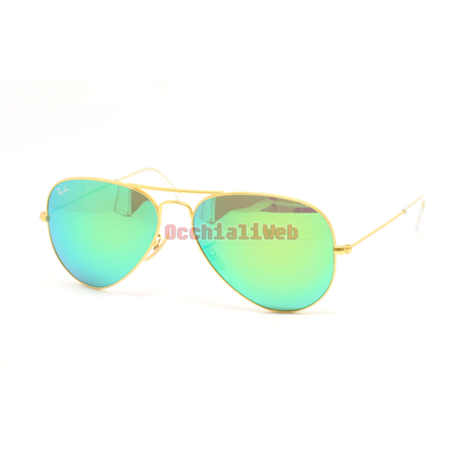 Ray-Ban RB 3025 AVIATOR Col.112/19 Cal.58 New Occhiali da Sole-Sunglasses