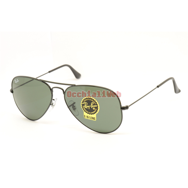 Ray-Ban RB 3025 AVIATOR Col. L2823  Cal.58  New Occhiali da Sole-Sunglasses