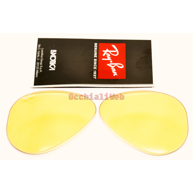 3bd3f601af LENTI- LENS RAY-BAN 3025 AVIATOR Cal 58 ambermatic evolve Replacement lens