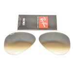 LENTI DI RICAMBIO AVIATOR RB 3025 CAL.55 MARRONI SFUMATE, BROWN GRADIANT