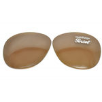 PERSOL PO 649 Col.24/33 Cal.56 MARRONI-BROWN  LENTI RICAMBIO/REPLACEMENT LENSES
