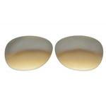 PERSOL PO 3042  Cal.54  LENTI RICAMBIO/REPLACEMENT LENSES MARRONE SFUMATO
